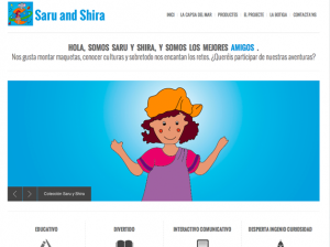Saru and Shira Website Images